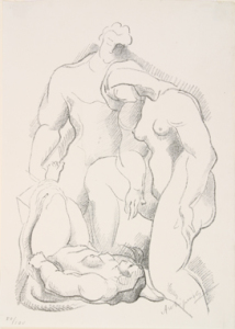 Archipenko_Three_Figures