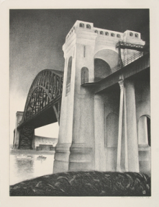 Lozowick_Hell_Gate_Bridge